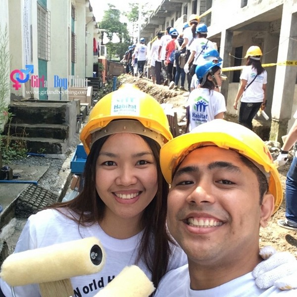 Lending a Helping Hand In Celebration of The World Habitat Day 2014