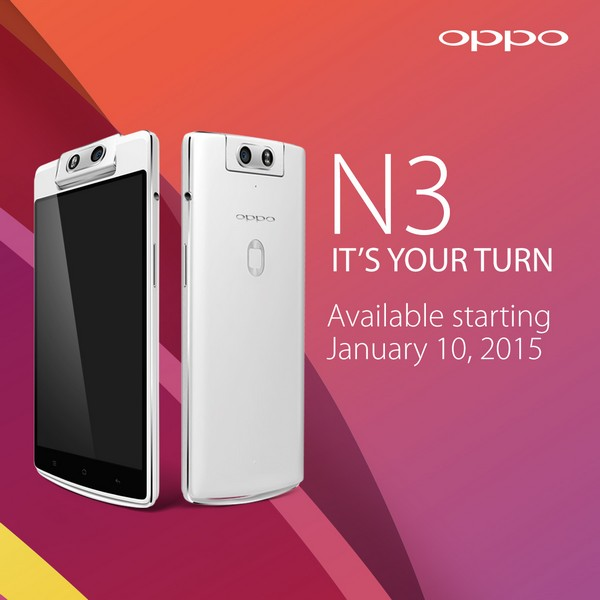 OPPO Set To Release Another Smartphone Under N-Series This January 10, 2015