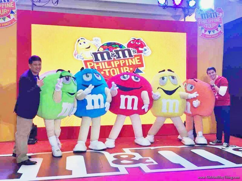 M&M's Philippines Tour