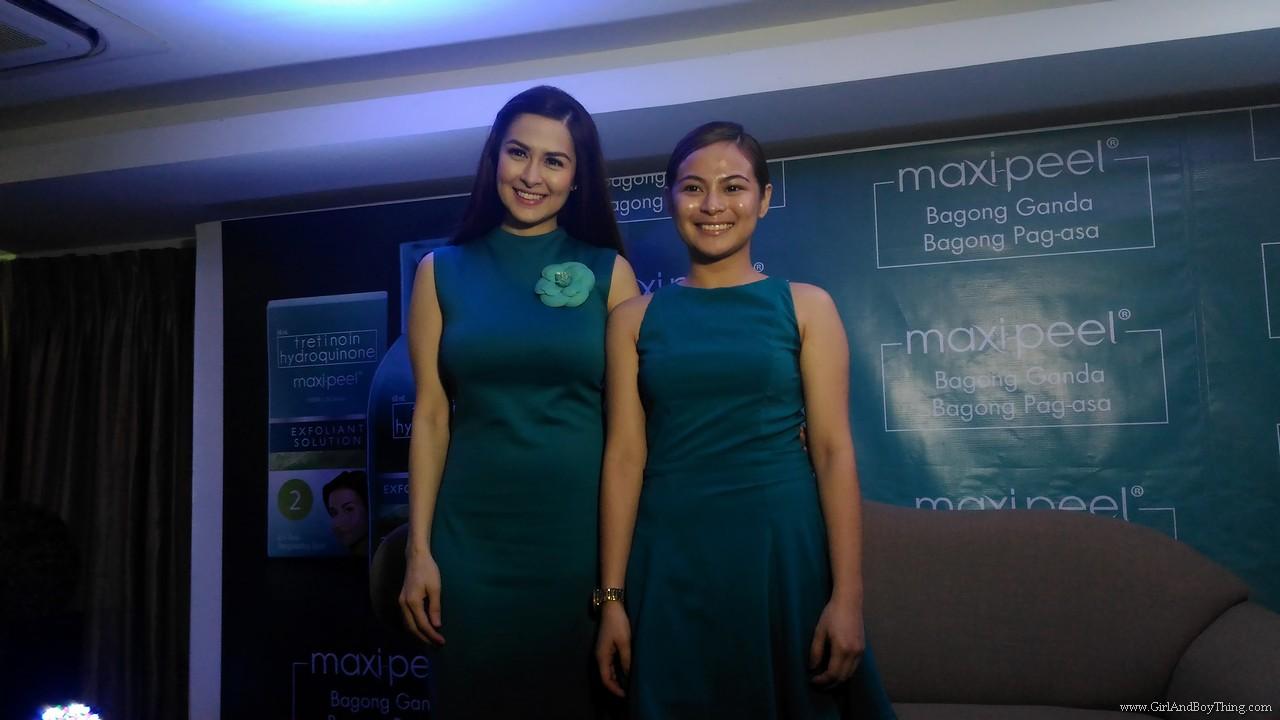 Maxi peel Tunay Serye Campaign