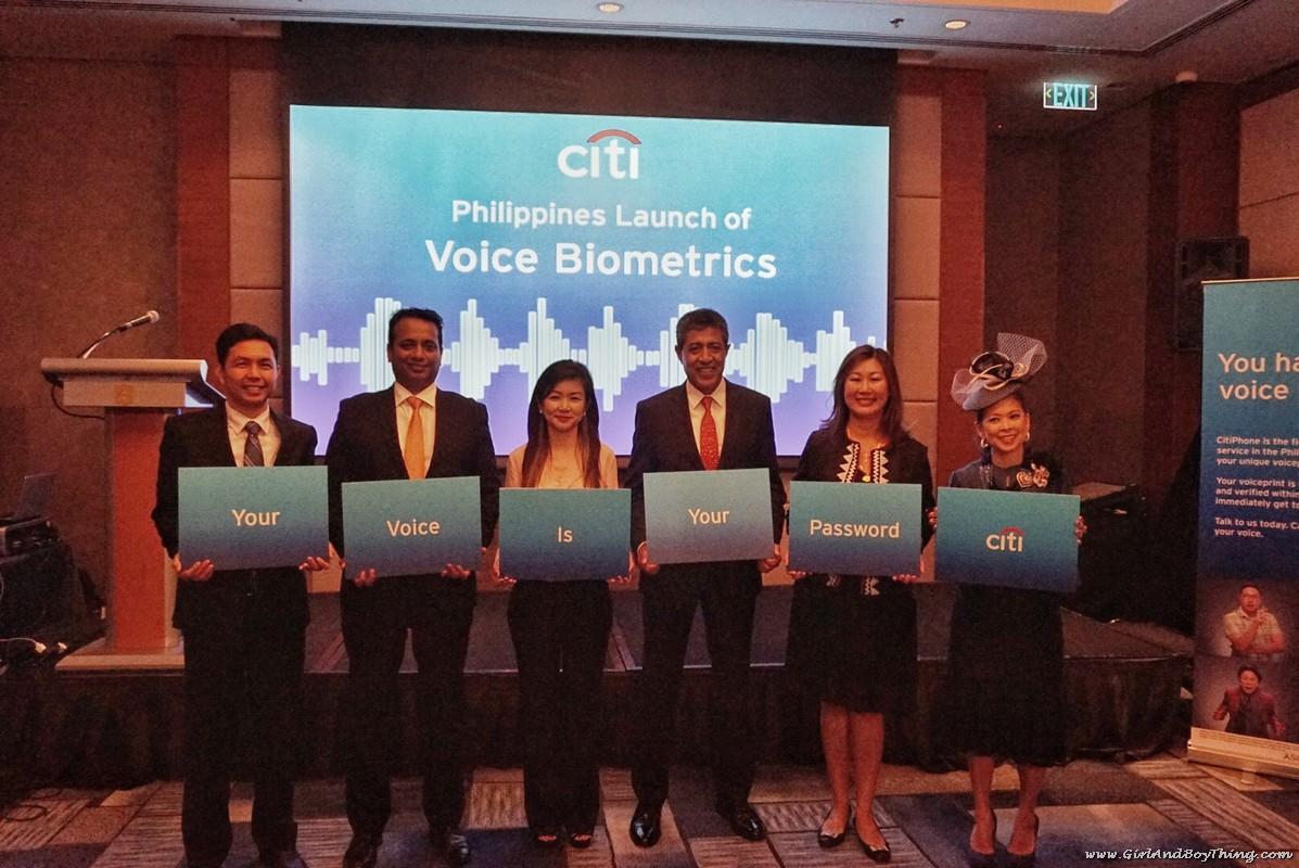 Citi Voice Biometrics