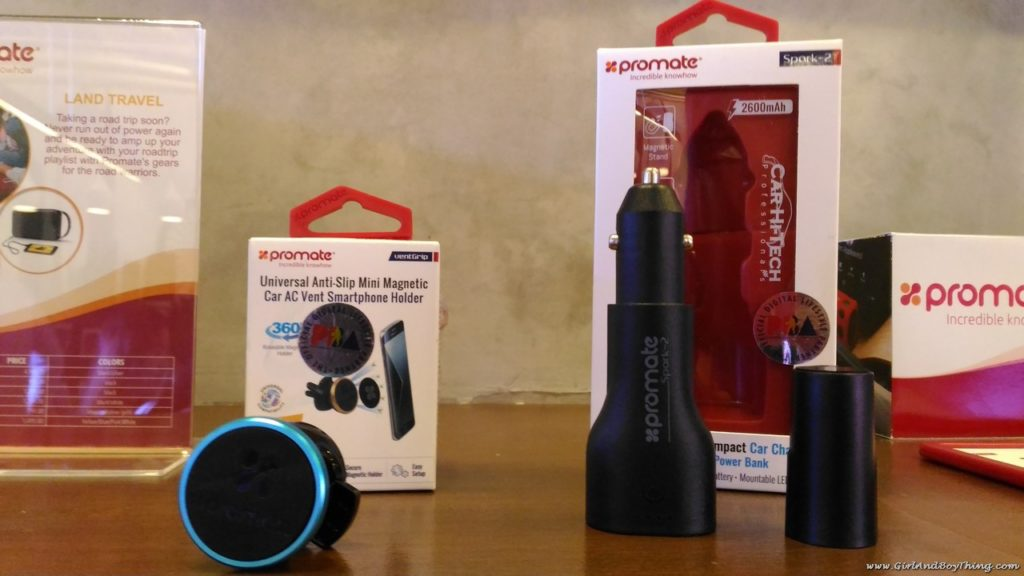 Promate Technologies car charger