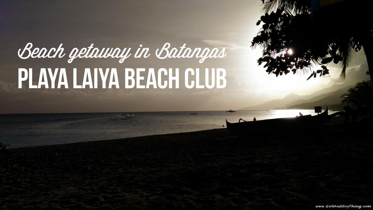 Playa Laiya resort batangas