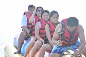Playa Laiya Beach Club banana boat