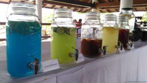 Playa Laiya Beach Club drinks
