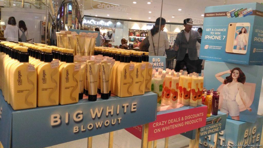 BIG WHITE BLOWOUT