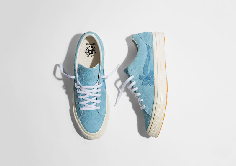 Converse starts the year with bold pastels on their GOLF le FLEUR Collection