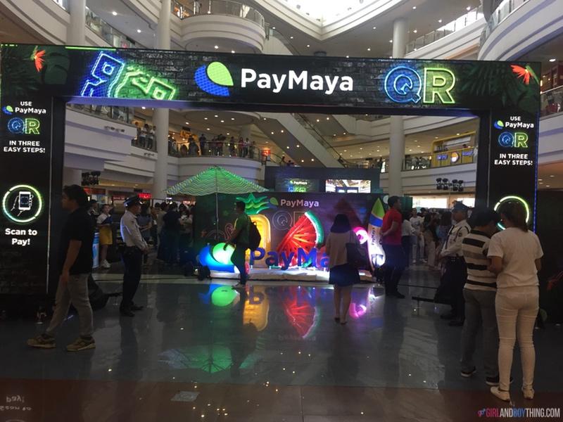 PayMaya QR Robinsons launch