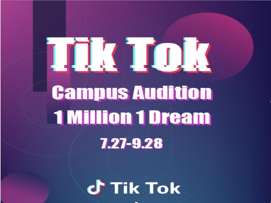 Tik Tok Campus Audition