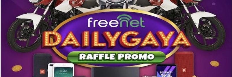 DAILYGAYA Raffle Promo