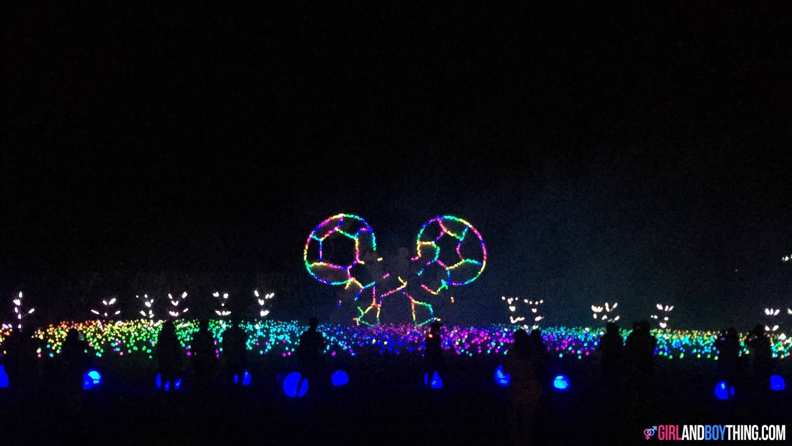 Nuvali's Festival of Lights and Sound