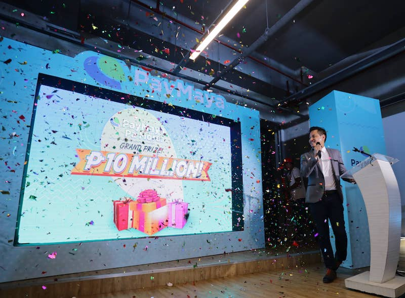 PayMayaPa More! P10 million Raffle Promo