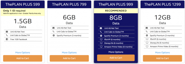 SWITCHING TO POSTPAID? Check out Globe's SIM-Only Postpaid Plans