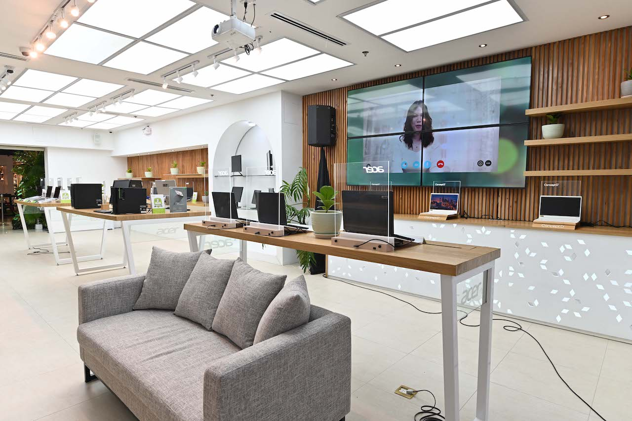 ACER Flagship Store Now Open At SM Megamall Cyberzone