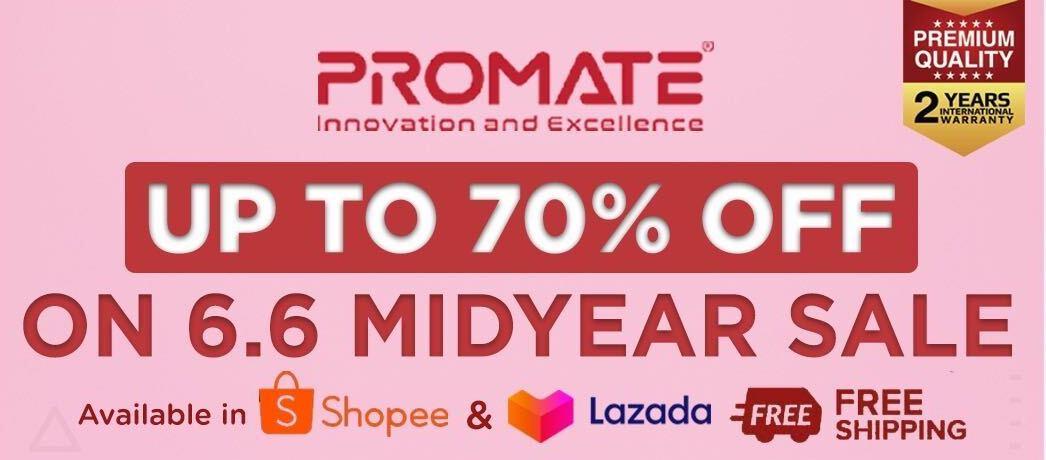 Promate sale shopee