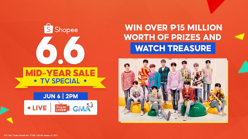 Over 15 Million Worth of Prizes To Be Given Away At Shopee 6.6-7.7 Mid-Year Sale TV Special!