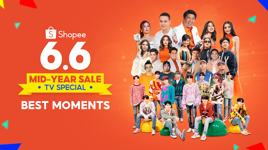 Shopee's 6.6-7.7 Mid-Year Sale TV Special
