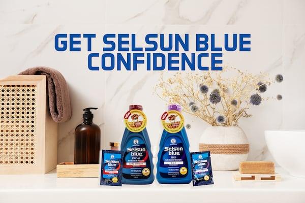 Selsun Blue Upside Down Class Pass: Promoting Wellness, Building Confidence!