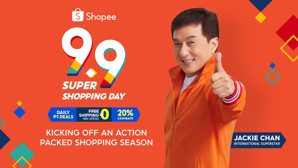 Shopee Reveals Jackie Chan As Newest Brand Ambassador For 9.9 Super Shopping Day