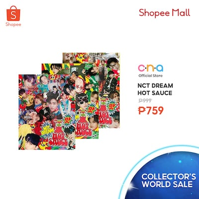 Grab your K-Pop Merch in Shopee Collector's World Fair!