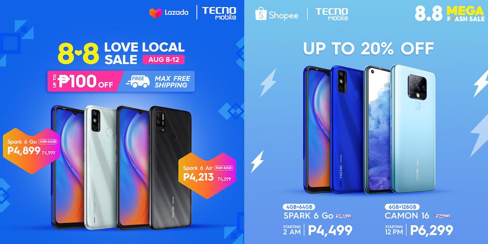 TECNO MOBILE 8.8 sale