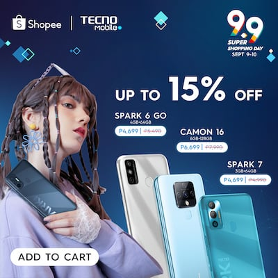 Enjoy 9.9 Sale Deals and Offers From TECNO Mobile Online