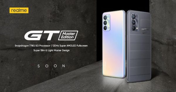 realme PH To Launch realme GT Master Edition And realme Book On September 23