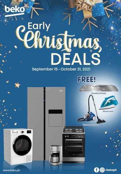 Score Discounts and Freebies at Beko's Early Christmas Deals